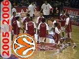 olimpia milano 2005 2006 euroleague